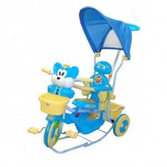 Tricicleta EURObaby 2830AC - Albstru - Tricicleta copii