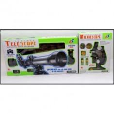 Set MT microscop si telescop pentru copii - Jocuri Stiinte