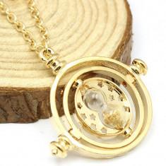 Medalion Lantisor Clepsidra Harry Potter Time turner Harry Potter - Lantisor fashion