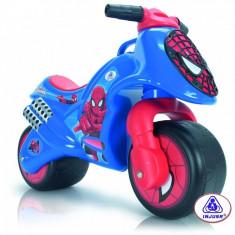 Motocicleta fara pedale Spiderman Injusa - Bicicleta copii