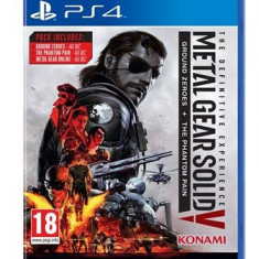 Metal Gear Solid V The Definitive Experience Ps4 - Jocuri PS4, Shooting, 18+