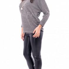 Bluza fashion● tip zara● calitate garantata ● COLECTIE NOUA 1080 - Bluza dama, Marime: S/M, Culoare: Din imagine, Maneca lunga