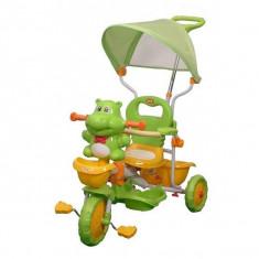 Tricicleta EURObaby HR210C - Verde - Tricicleta copii