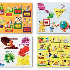 Puzzle Melissa & Doug de podea Educational 4 Melissa and Doug