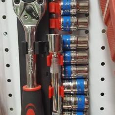 Trusa tubulare cu 12 piese - Trusa scule auto