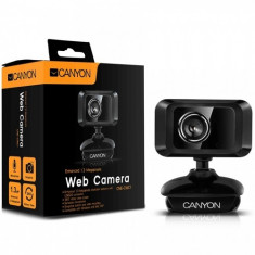 Enhanced 1.3 Megapixels resolution Webcam CANYON with USB2.0 connector