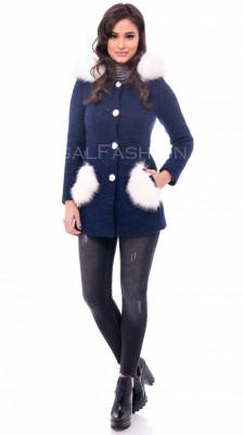 Palton ● dama ● palton slim fit ● COLECTIE NOUA 1096 foto