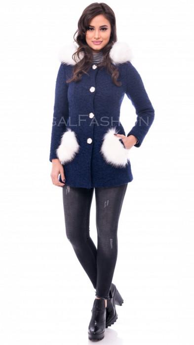 Palton ● dama ● palton slim fit ● COLECTIE NOUA 1096 foto mare