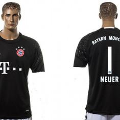 Tricou portar BAYERN1 NEUER - Tricou echipa fotbal, Marime: M, XL, XXL, Culoare: Din imagine, De club, Bayern Munchen, Maneca scurta