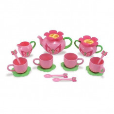 Set de ceai de jucarie Bella Butterfly - Melissa and Doug - Vehicul Melissa & Doug