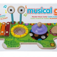 Studio muzical Crocodil Alex Toys - Vehicul