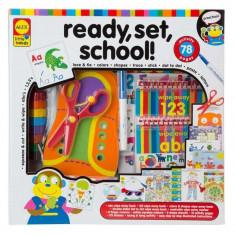 Pe locuri, fiti gata … la scoala! Alex Toys