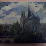 VALENTIN POPA, ULEI PANZA 1995- Notre-Dame de Paris - Pictor roman, Peisaje, Realism