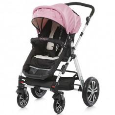 Carucior Chipolino Tempo 2 in 1 pink 2015 - Carucior copii Landou
