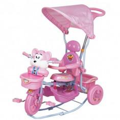 Tricicleta EURObaby 2830AC - Roz - Tricicleta copii