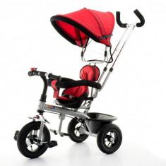 Tricicleta EURObaby T306 - Rosu - Tricicleta copii