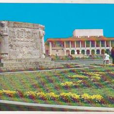 Bnk cp Targu Jiu - Casa de cultura - necirculata - Carte Postala Oltenia dupa 1918, Printata