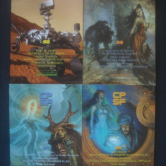 COLECTIA DE POVESTIRI STIINTIFICO-FANTASTICE  27 volume, serie noua  {2013-2015}