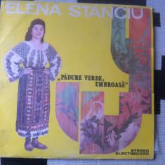 ELENA STANCIU PADURE VERDE UMBROASA ALBUM DISC VINYL LP Muzica Populara electrecord FOLCLOR, VINIL