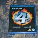 Film - Fantastic Four / Fantastic Four: Rise of the Silver Surfer [2 Discuri] - Film SF Altele, BLU RAY, Engleza