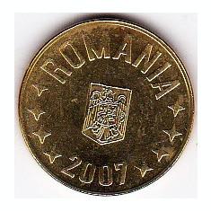 1 ban 2007 din fisic BNR a.UNC/UNC rog cititi descrierea - Moneda Romania