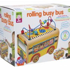 Rollercoaster autobuz Alex Toys - Jucarie interactiva