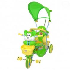 Tricicleta EURObaby 2830AC - Verde - Tricicleta copii