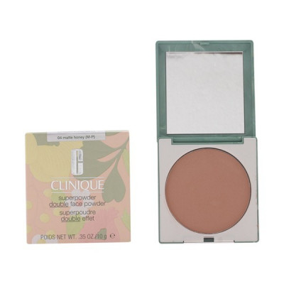 Clinique - SUPERPOWDER double face 04-matte honey 10 gr foto