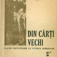 Din carti vechi - pagini privitoare la istoria romanilor - SCARLAT CALLIMACHI - Carte veche