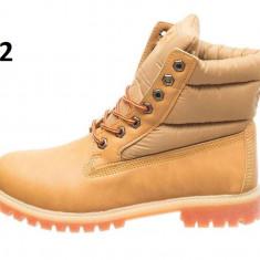 Bocanci gen Timberland - inblaniti - Bocanci barbati Nike, Marime: 43, 44, Culoare: Camel, Piele sintetica