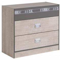 Comoda 3 sertare FABRIC - Comoda dormitor