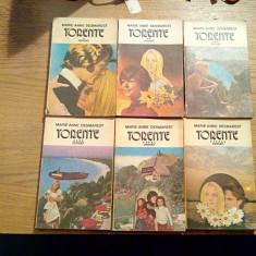 TORENTE * 6 vol. - Marie-Anne Desmarest - Editura Porus, 1992