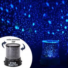 Proiector rotativ astronomic Cosmos, reda stele multicolore, cu muzica