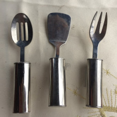 AMUZANTI TREI MAGNETI FRIGIDER DIN IONX, USTENSILE BUCATARI - Metal/Fonta, Ornamentale