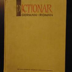 Dictionar german - roman - M. Isbasescu, M. Iliescu, 1966 (140.000 de termeni)
