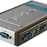 Swhitch 4 port kvm switch dkvm 4k