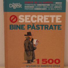 SECRETE BINE PASTRATE- READER'S DIGEST - Carte Cultura generala
