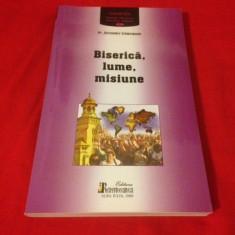 PR. ALEXANDER SCHMEMANN, BISERICĂ, LUME, MISIUNE - Carti Crestinism