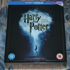 Film - Harry Potter Collection - 8 Filme [16 Blu-Ray Discs], import UK - Film Colectie warner bros. pictures, Engleza