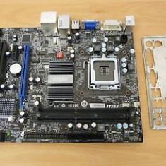 Kit: Placa baza G41M-S03 DDR3 + Procesor Core 2 Duo E6850 3.0Ghz socket 775 - Placa de Baza Msi, Pentru INTEL, LGA775, Contine procesor, MicroATX