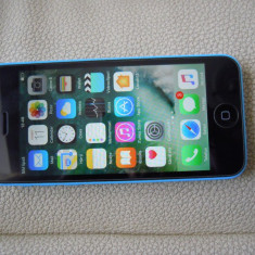 iPhone 5C Apple 8gb, full, stare f buna, Albastru, Orange