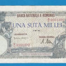 100000 lei 1946 28 Mai 4 - Bancnota romaneasca