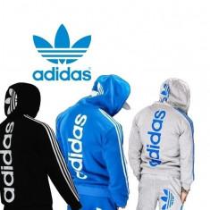 Trening Adidas Barbati Dama Logo EXCEPTIONAL - Trening barbati, Marime: S, M, L, Culoare: Albastru, Gri, Negru, Bumbac