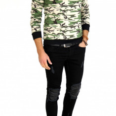 Bluza fashion army tip ZARA - bluza barbati - 7503, Marime: M, L, XL, Culoare: Din imagine