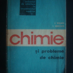 CHIMIE SI PROBLEME DE CHIMIE PENTRU CONCURSUL DE ADMITERE IN INVATAMANTUL ... - Carte Chimie
