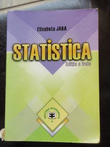 STATISTICA - ELISABETA JABA