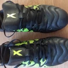 Ghete cu crampoane adidas - Ghete fotbal Adidas, Marime: 38.5, Culoare: Negru