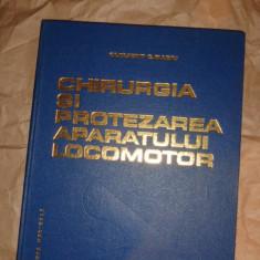 Chirurgia si protezarea aparatului locomotor an 1986/503pag- Clement Baciu - Carte Ortopedie