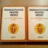 FARMACOLOGIE PENTRU MEDICI (2 vol.) - Barbu Cuparencu - Editura Dacia, 1976