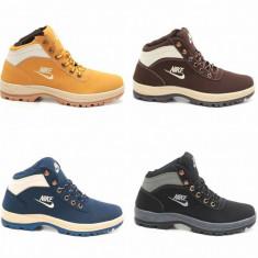 Bocanci Nike UNISEX Dama Barbati Mandara All colours - Bocanci dama, Culoare: Camel, Indigo, Negru, Marime: 42, 43, 44, Piele sintetica